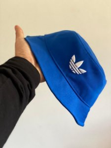 Bucket Hat Adidas Trefoil Royal Blue