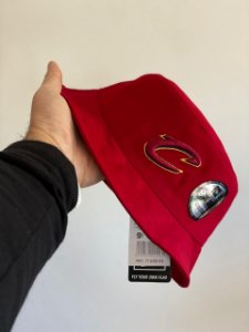 Bucket Hat New Era Cleveland Cavaliers Wine