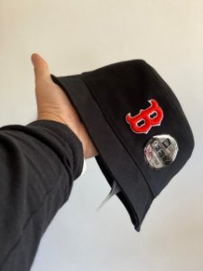 Bucket Hat New Era Boston Red Sox Black