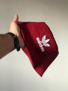 Bucket Hat Adidas Brand Wine