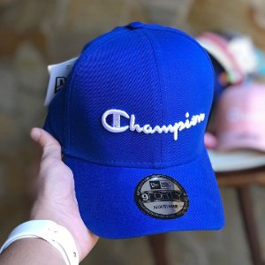 Cap Champion Class Royal Blue Strapback Aba Curva