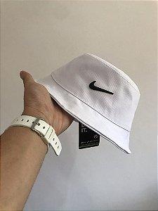 Bucket Hat Nike Swoosh White