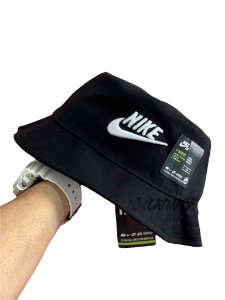 Bucket Hat Nike Futura Black White