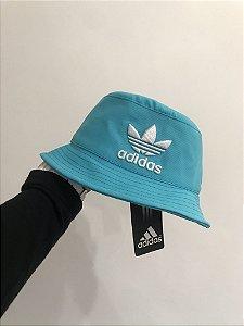 Bucket Hat Adidas Brand Light Blue