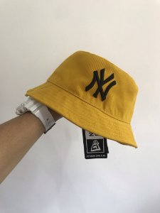 Bucket Hat New Era New York Yankees Mustard