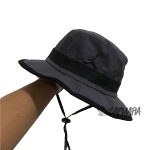 Bucket Hat Jordan Brand Jumpman Grey Black
