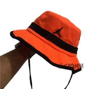 Bucket Hat Jordan Brand Jumpman Orange Black