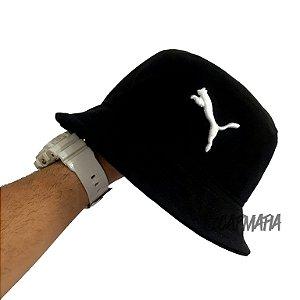 Bucket Hat Puma Brand Black White