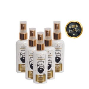 Kit Super Barba - 5 Blend Extreme Lorkin 50ml Cada