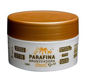 Parafina Bronzeadora Gold 120g
