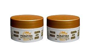 2 Parafina Bronzeadora Gold 120g - Dupla Perfeita