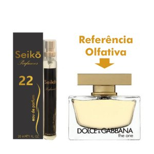 Núm-22 30ml Ref. Olfativa em Perfume The One Eau Parfum