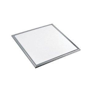 Painel LED Embutir Quadrado 18W Bivolt Branco Quente