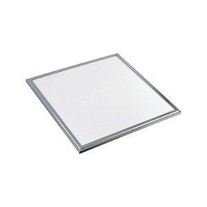 Painel LED Embutir quadrado 18W Bivolt Branco Frio