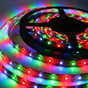 Fita LED 5050 72W Rolo com 5 metros IP65 RGB 12V