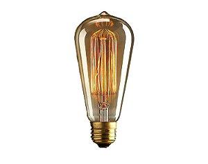 Lâmpada de Filamento de Carbono ST64 40W Starlux