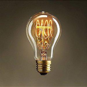 Lâmpada de Filamento de Carbono A19 40W Starlux