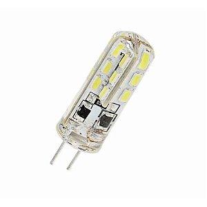 Lâmpada LED G4 Bipino 2,5W Silicone 12V 3000K