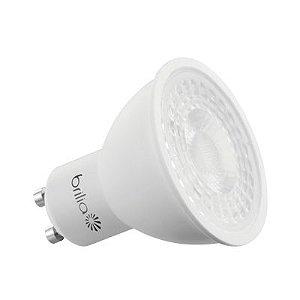Lâmpada LED Dicróica GU10 6,5W Bivolt 2700K Brilia
