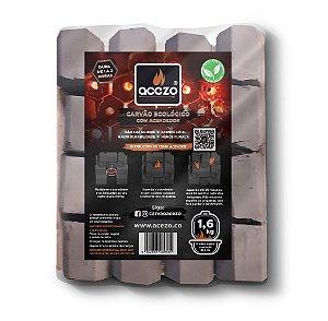 Briquete de Carvão Bandeja 1,6 kg
