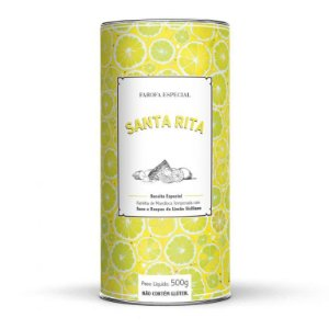 Farofa Especial com Limão Siciliano 500 g (Sem Glúten)