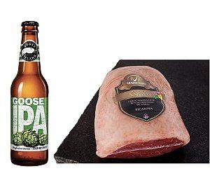 Kit - Picanha Angus + 06 Cervejas Goose IPA