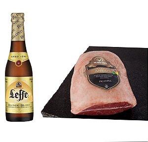 Kit - Picanha Angus + 06 Cervejas Belga Leefe