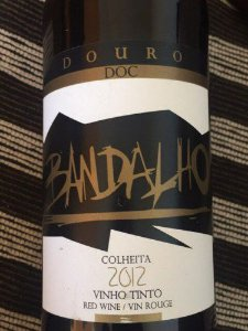 Vinho Português Bandalho DOURO DOC 2012