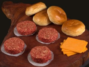 Kit Cheese Burger - DeBetti com 4 unidades