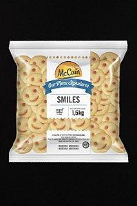 Batata Smiles 1,5kg - Congelado