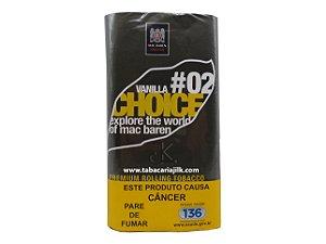 Tabaco/Fumo Para Cigarro Mac Baren 02 Vanilla Choice 30g