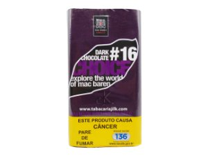 Tabaco/Fumo Para Cigarro Mac Baren 16 Chocolate Choice 30g