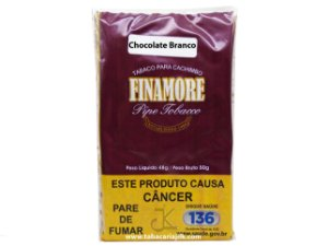 Tabaco/Fumo Para Cachimbo Finamore Chocolate Branco 48g