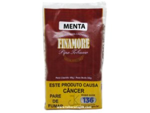 Tabaco/Fumo Para Cachimbo Finamore Menta 48g