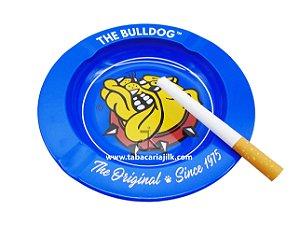 Cinzeiro Para Cigarro The Bulldog Lata Cor Azul