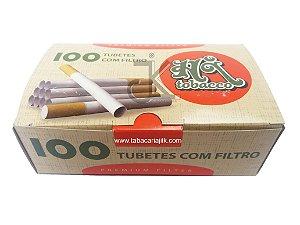 Tubete tubos de cigarro Hi Tobacco King Size C/100
