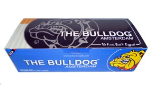 tubos de cigarro King Size Bulldog c/200 un