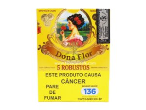 Charuto Dona Flor Robusto connecticut C/5
