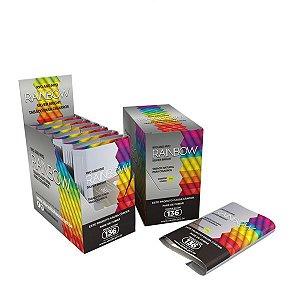 Tabaco/Fumo para cigarro Hi Tobacco Rainbow Silver Bright caixa C/6