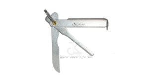 Limpador de cachimbo (Ferramenta) Finamore de metal 3 em 1