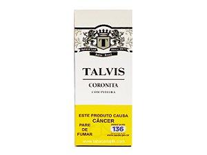 Cigarrilha Talvis Tradicional Coronita Com Piteira Maço C/5