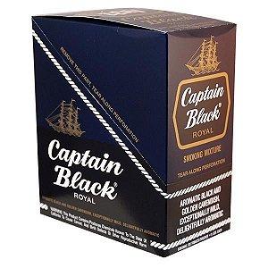 Tabaco/Fumo para Cachimbo Captain Black Royal Caixa C/6