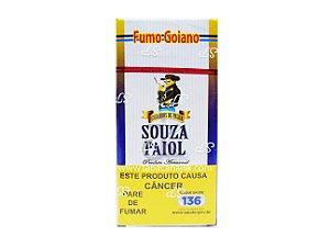 Cigarro de Palha Souza Paiol Fumo Goiano maço C/18