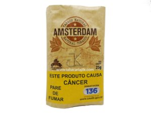 Tabaco/Fumo Para Cigarro Amsterdam 25g