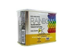 Tabaco/Fumo Para Cigarro Rainbow Silver Bright Lata 50g