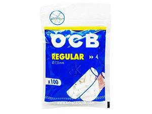 Filtro Para Cigarro OCB Regular 7,5mm C/100