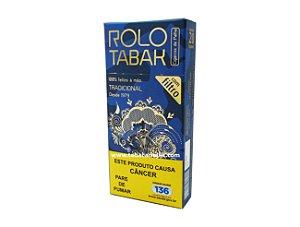 Cigarro de Palha Rolo Tabak Tradicional com Filtro Maço C/20