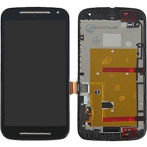 Tela Touch Display LCD Modulo Frontal Com Aro Motorola Moto G2