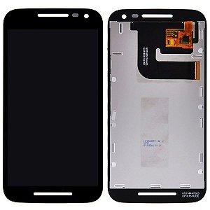 Tela Touch Display LCD Modulo Frontal Sem Aro Motorola Moto G3 Preto