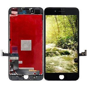 Tela Touch Display LCD Modulo Frontal Com Aro Apple iPhone 8 Plus Preto